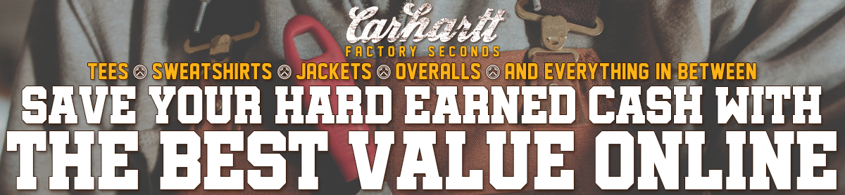Carhartt Factory Seconds