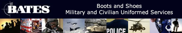 Bates Boot for Military and Civilian Uniformed Services