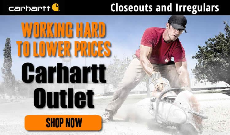 Carhartt Onsale and Irregular Items