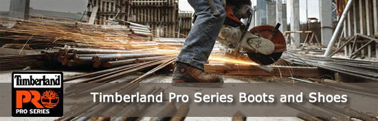 Timberland Pro Series Work Boots and Shoes - Safety Steel Toe and Non-Steel Toe