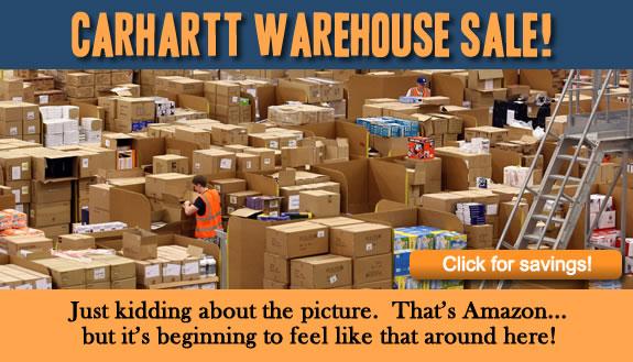 Carhartt Warehouse Sale