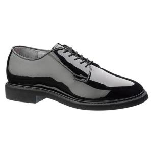 Bates Mens Lites™ Black High Gloss Oxford Shoes