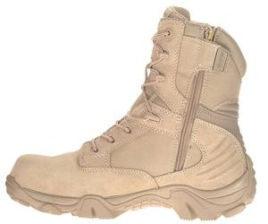 Bates Men's GX-8 Desert Composite Toe Side Zip Boot