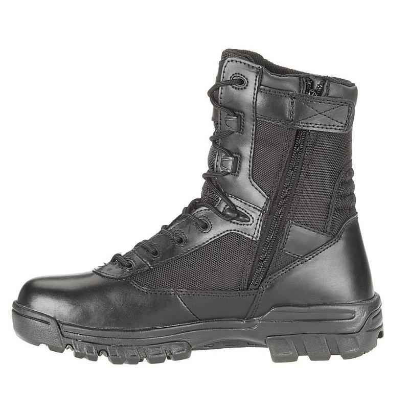 Bates Men S 8 In Tactical Composite Toe Side Zip Boots E2263