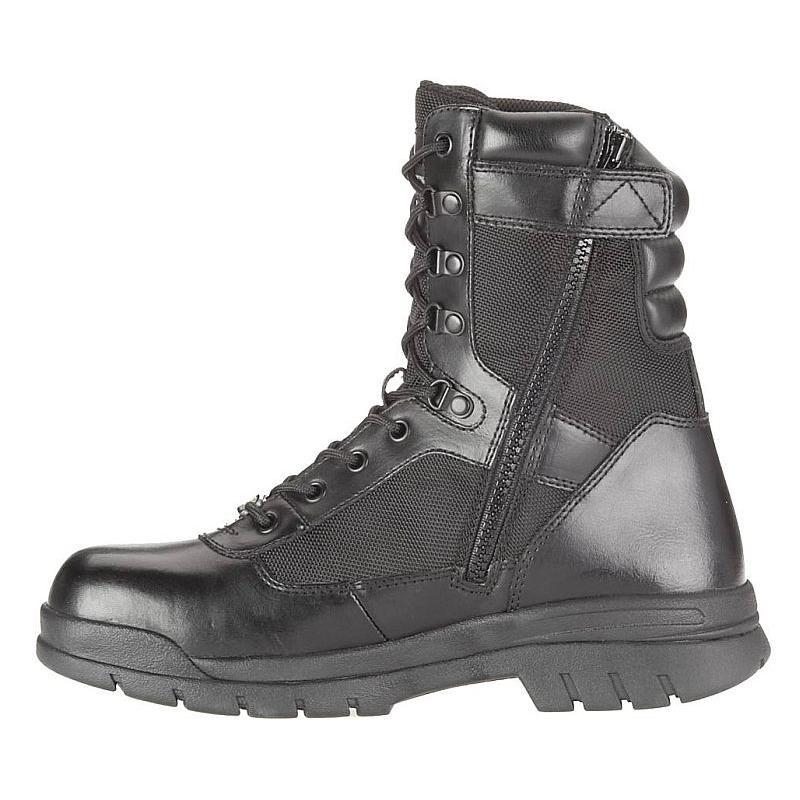 Bates Men's 8 inch Insulated Steel Toe Side Zip Boots