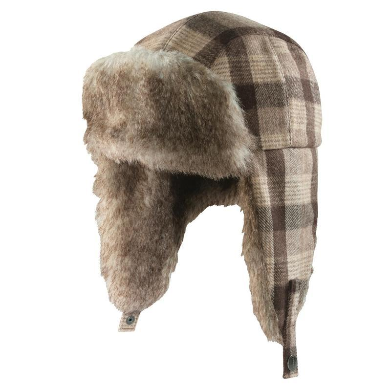 Carhartt Camden Wool Plaid Earflap Hat-Closeout