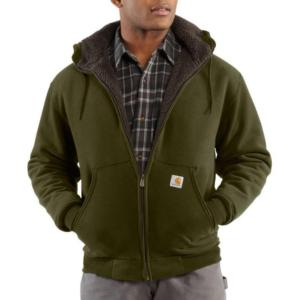 Carhartt Brushed Fleece Sherpa Lined Sweatshirts - Irregular