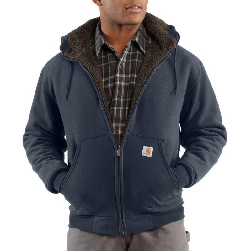 Carhartt Brushed Fleece Sherpa Lined Sweatshirts IR