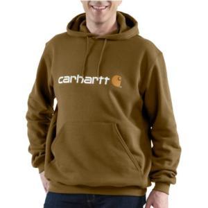 Carhartt Men's Signature Logo Midweight Sweatshirt-Irregular