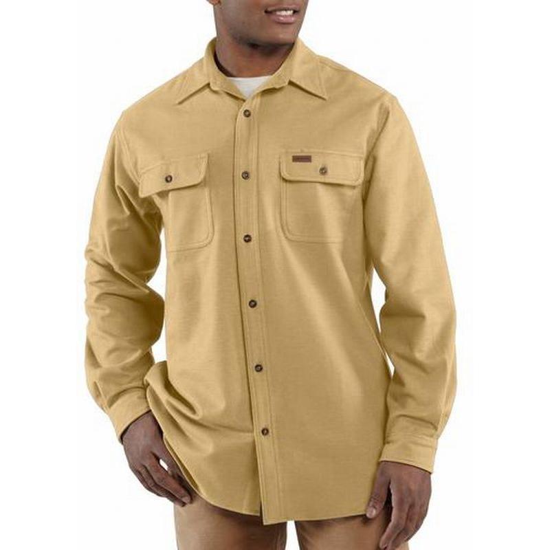 Carhartt Men's Chamois Long Sleeve Shirt