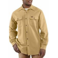 Carhartt Men's Chamois Long Sleeve Shirt 100080