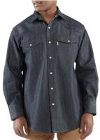 Carhartt Men's Ironwood Denim Work Shirt 100083