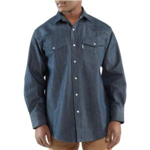 Carhartt Men's Ironwood Denim Work Shirt