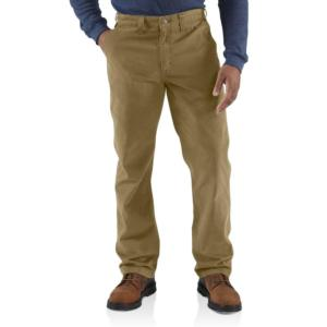 Carhartt Men's Rugged Work Khaki Pants