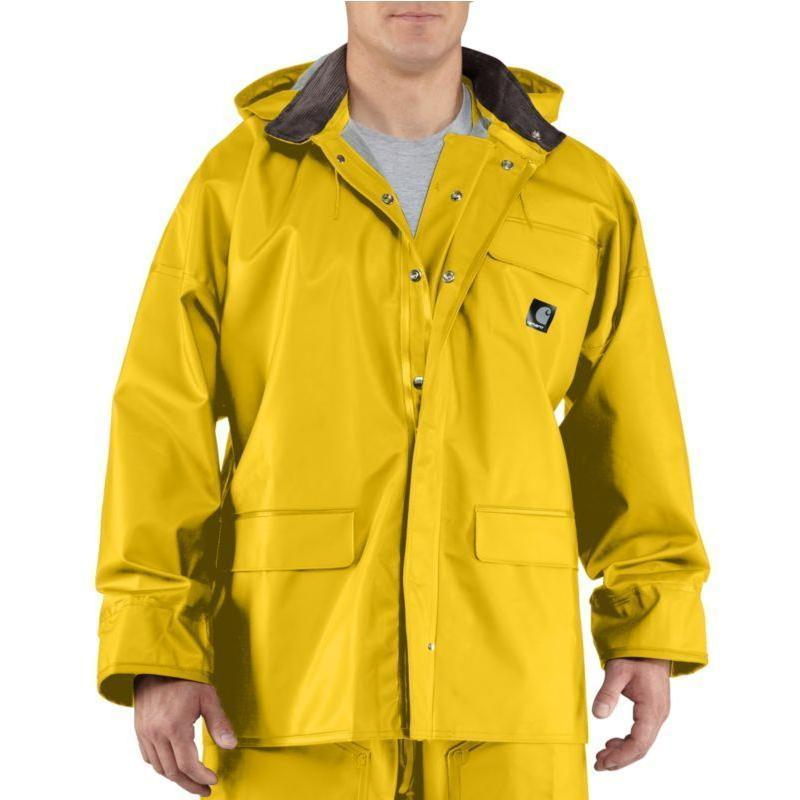 Carhartt Men s Surrey PVC Rain Coat 100100 e8fc73f82901