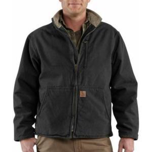 Carhartt Sandstone Duck Sherpa Lined Muskegon Jackets - Irregular