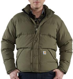 Carhartt Men's Down Kalkaska Water Resistant Traditional Jackets