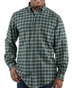 Carhartt Men's Trumbull Midweight Flannel Shirt - Irregular