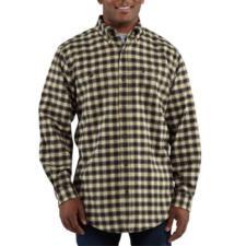 Carhartt Men's Trumbull Midweight Flannel Shirt - Closeout 100124