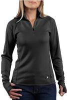 Carhartt Women's Work Dry Base Layer Quarter-Zip Shirt 100150