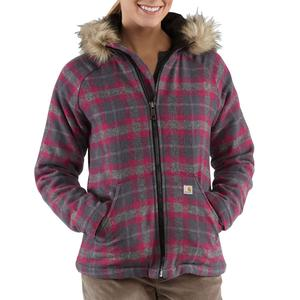 Carhartt Women's Camden Plaid Wool Jacket -  Closeout