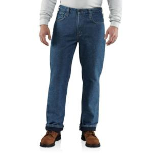 Carhartt Flame-Resistant Lined Utility Denim Jean-Relaxed Fit