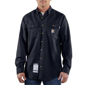 Carhartt Men's Flame-Resistant Twill Work Shirt