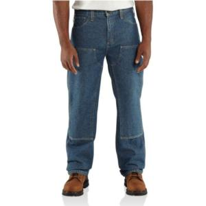 Carhartt Flame-Resistant  Utility Denim Double Front Jean-Relaxed Fit