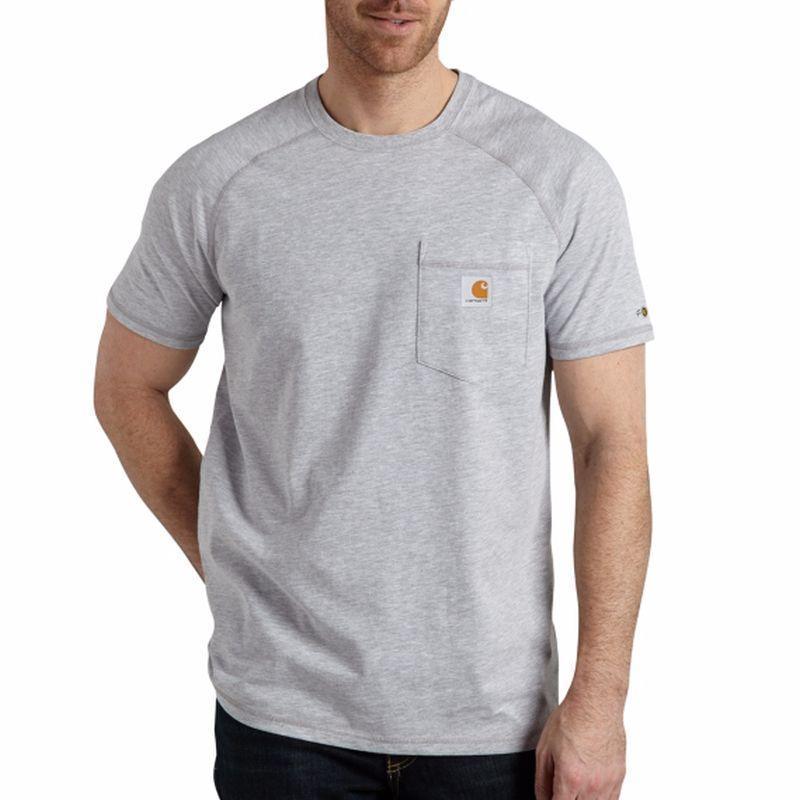Carhartt Force Cotton Short-Sleeve T-shirts - Irregular