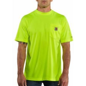Carhartt Men's Force High Visibility Short Sleeve T-shirt