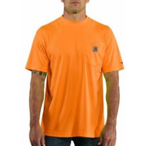 Carhartt Men's Force High Visibility Short Sleeve T-shirt