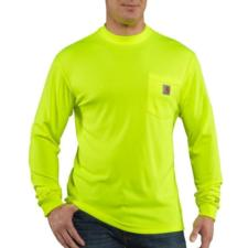 Carhartt Men's Force High Visibility Long Sleeve T-Shirt 100494