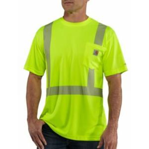 Carhartt Men's Force High Visibility T-shirt-Class 2