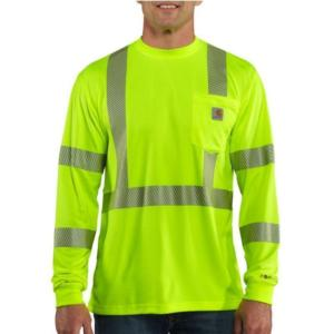 Carhartt Men's Force High Visibility T-shirt-Class 3