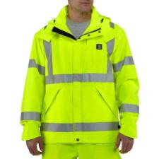 Carhartt Men's High Visibility Class 3 Waterproof Jacket 100499
