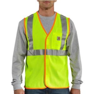 Carhartt Men's High Visibility Vest-Class 2
