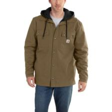 Carhartt Quick Duck Roane Hooded Shirt Jac 100586