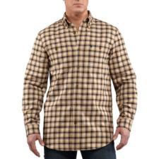 Carhartt Trumbull Midweight Flannel Shirt- Talls - Closeout 100597