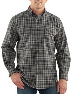 Carhartt Men's Fort Plaid Long-Sleeve Shirt