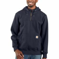 Carhartt  Men's Rain Defender™ Paxton Heavyweight Hooded Zip Mock Sweatshirt 100617