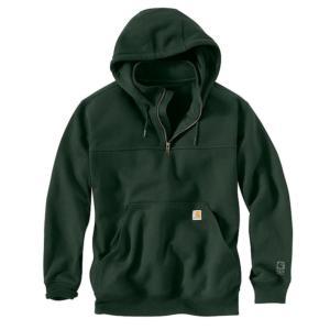 Carhartt  Heavyweight Hooded Rain Defender Zip-Mock Sweatshirt  - Irregular