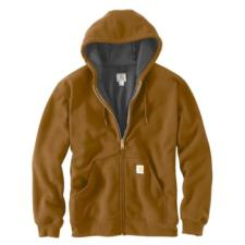 Carhartt Men's Rain Defender™ Rutland Thermal-Lined Hooded Zip-Front Sweatshirt 100632