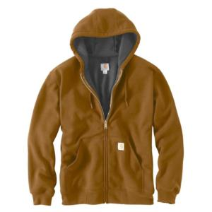 Carhartt Men's Rain Defender™ Rutland Thermal-Lined Hooded Zip-Front Sweatshirt