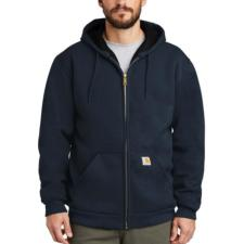 Carhartt_Carhartt 12 oz. Thermal-Lined Rain Defender Hooded Zip-Front Sweatshirts - Irregular