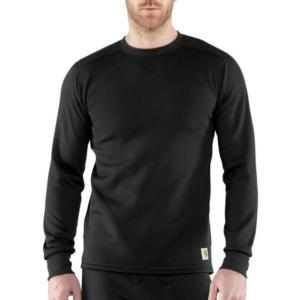 Carhartt Men's Base Force Cold Weather Weight Crew Neck Top-Irregular