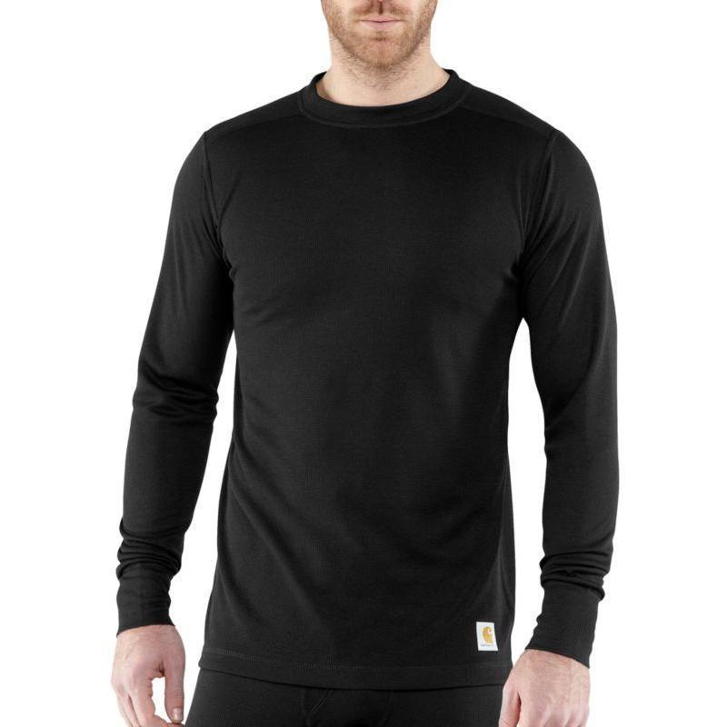 Carhartt Men's Base Force Cold Weather Weight Crew Neck Top