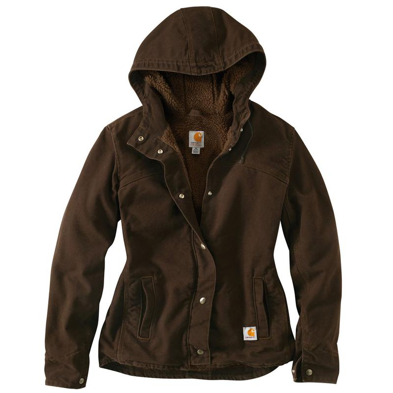 Carhartt Womenu0026#39;s Sandstone Berkley Jacket - Irregular 100657irr