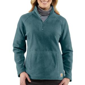 Carhartt Women's Boyne Mock Neck Fleece Pullover - Closeout