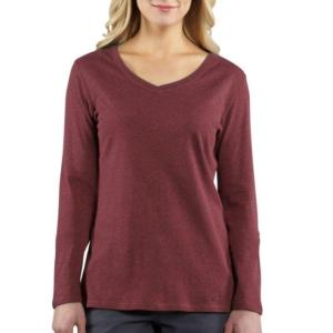 Carhartt Women's Calumet Long-Sleeve V-Neck - Closeout