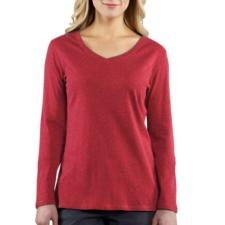 Carhartt Women's Calumet Long-Sleeve V-Neck - Closeout 100683